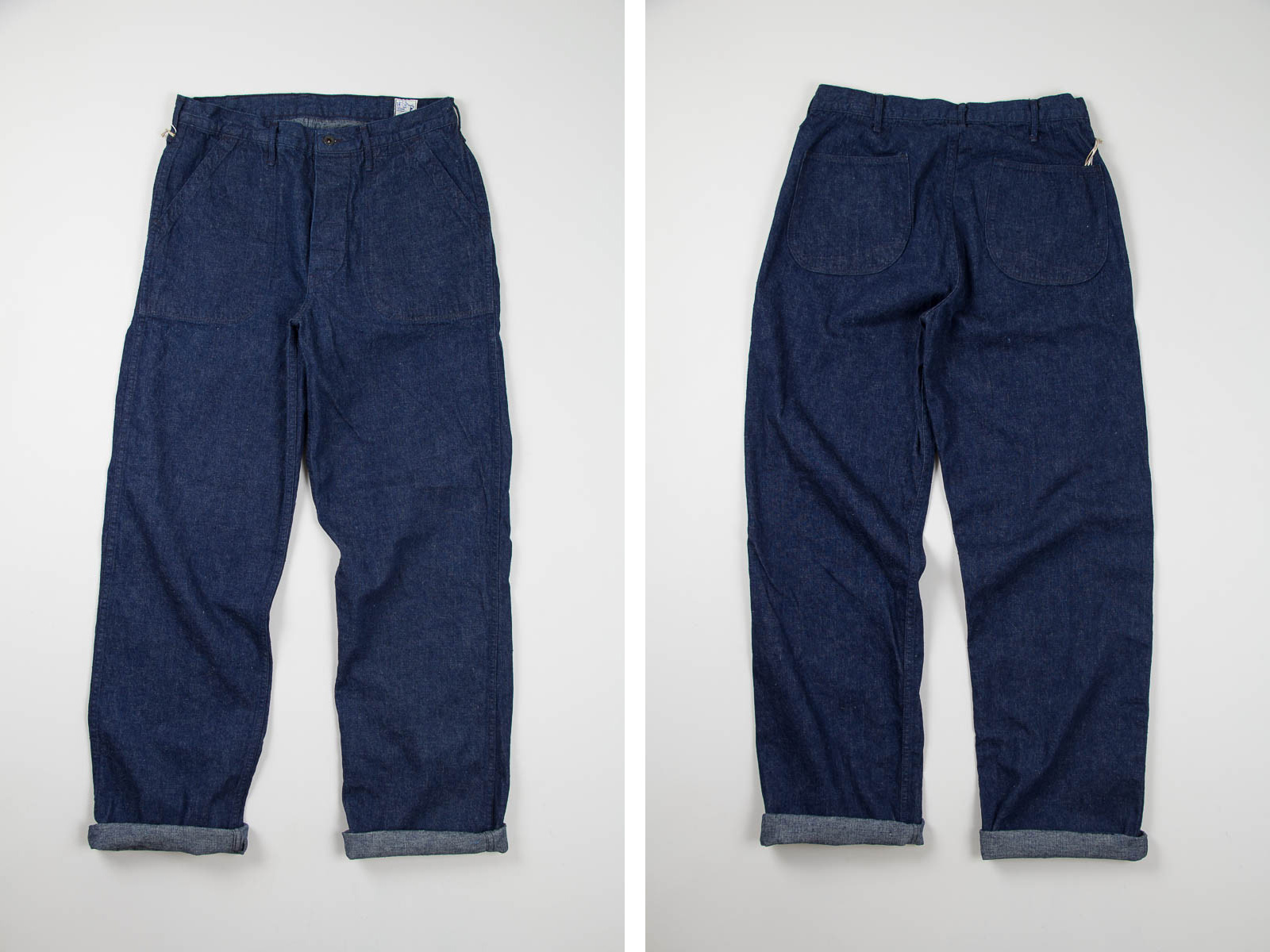 Indigo One Wash US Navy Utility Pant