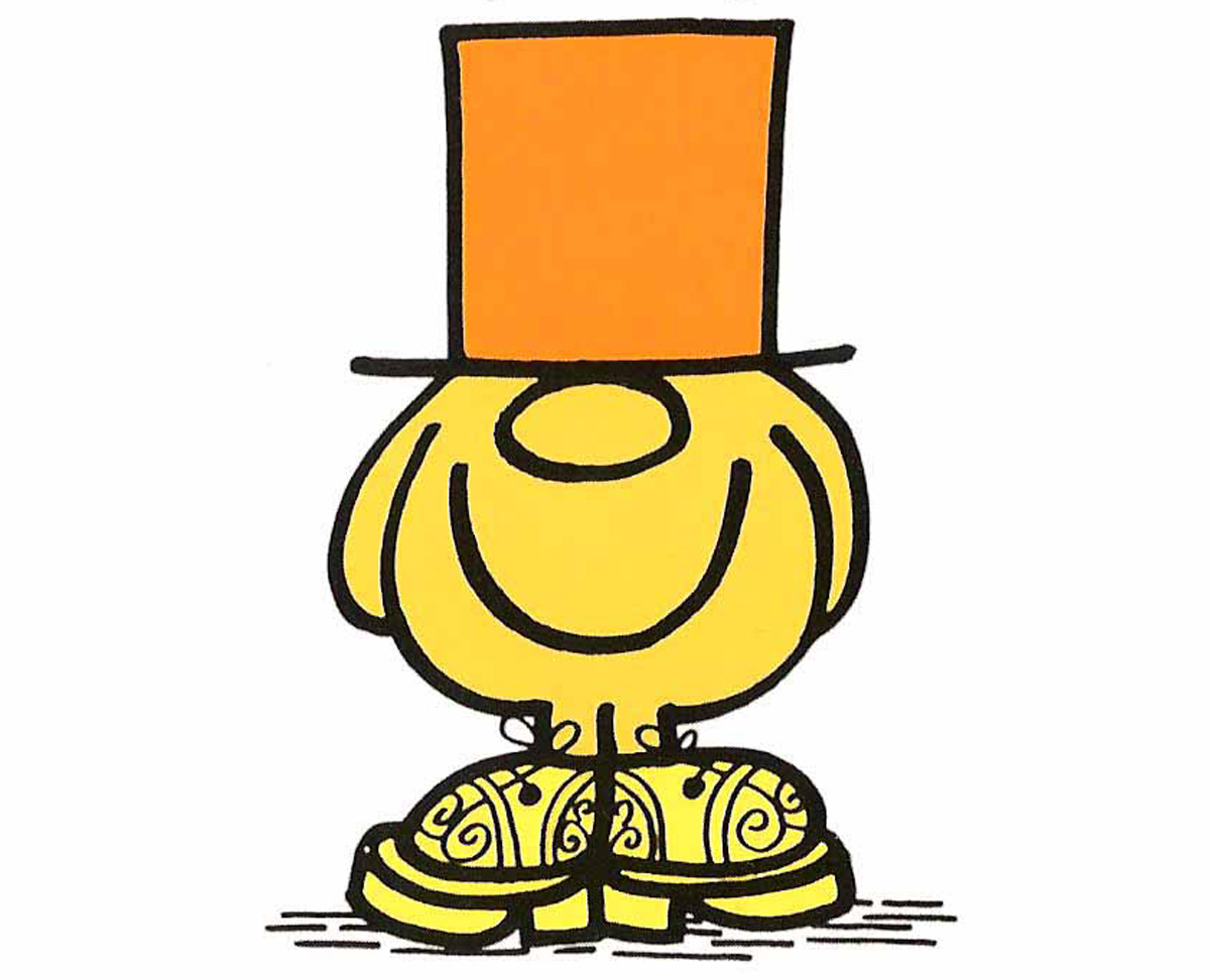 Mr. Silly deserves an honourable mention sporting a Tricker's Bourton with Goodyear Welt in Acorn Antique, but somewhat over cooks his look with an over the top orange top hat