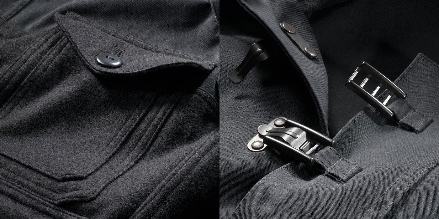 Nigel Cabourn Cameraman Jacket detail