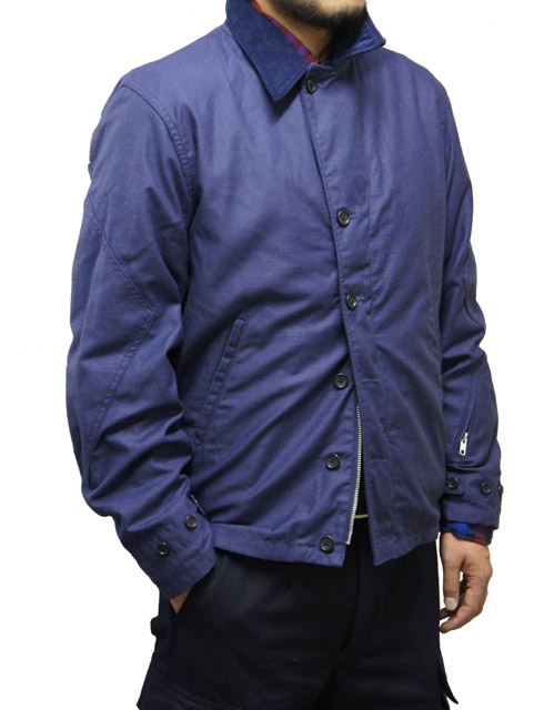 M-41 Jacket Nyco Reversed Sateen Navy